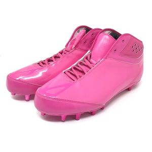 Mens Pink Adidas Adizero Soccer Football Cleats